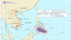 Áp thấp nhiệt đới rình rập sát biển Đông