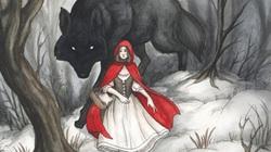 """Phát hiện gây sốc về câu chuyện """"Cô bé quàng khăn đỏ"""""""