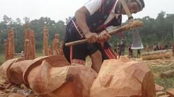 Mở trại sáng tác điêu khắc Tây Nguyên