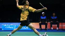 Tiến Minh thảm bại sau 25 phút so tài với tay vợt Ấn Độ