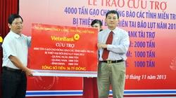 VietinBank hỗ trợ các tỉnh miền Trung 4.000 tấn gạo