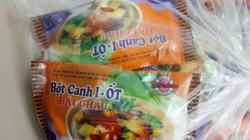 Bắt giữ hơn 6.500 gói bột canh iốt giả nhãn hiệu Hải Châu