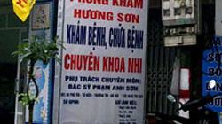 Hà Nội: Bé 16 tháng tuổi tử vong ở phòng khám chui