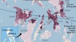 Tin mới nhất về số người thiệt mạng tại Philippines vì siêu bão Haiyan