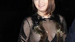 Váy lưới hở thân khiến nữ hoàng gợi cảm xứ Hàn bối rối
