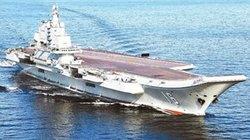 Tàu sân bay Liêu Ninh ra Biển Đông huấn luyện