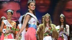 Nhà báo tương lai  đăng quang Hoa hậu Nga