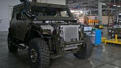 Chùm ảnh dây chuyền lắp ráp xe bọc thép Iveco ở Nga