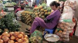 """Đi chợ """"ngủ"""" ở Hà Nội"""