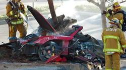 Clip hiện trường vụ đâm xe thảm khốc khiến Paul Walker tử nạn