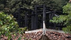 Thanh Hóa: Đền Lê Lai bị cháy, phóng viên không được tác nghiệp