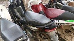 Lẻn vào trộm hàng chục xe máy ở bãi xe công an