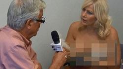 Những nữ MC táo bạo chẳng ngại trút xiêm y trên sóng truyền hình