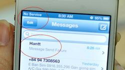 VinaPhone mất mạng ở ba quận tại Hà Nội