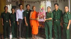 Đồng bào Khmer bảo vệ tuyến biên giới