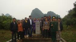 Cao Bằng: Hướng dẫn nông dân giữ gìn cột mốc biên giới