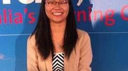 Nữ sinh Việt nhận giải thưởng danh giá của chính phủ Úc