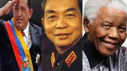 Năm 2013: Những anh hùng, lãnh tụ vĩnh biệt cõi trần
