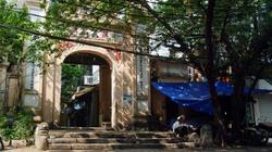 Phố lưu dấu nhiều cổng làng giữa Thủ đô