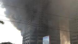 Bé gái ba tuổi mất tích sau vụ cháy lớn tại dự án Khu đô thị An Hưng