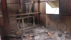 Hà Nội: Cận cảnh khu nhà tạm của CN nơi vừa xảy cháy kinh hoàng