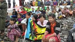 Chùm ảnh người đẹp Myanmar đi xem SEA Games như trẩy hội