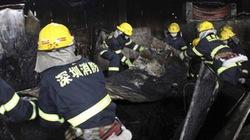 Cháy chợ, 16 người Trung Quốc thiệt mạng