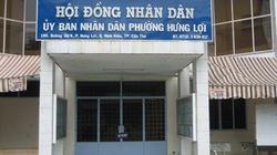 UBND phường đóng kín cửa để họp, dân ngơ ngác