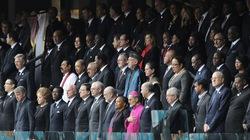 Chùm ảnh lễ tang cựu tổng thống Nelson Mandela