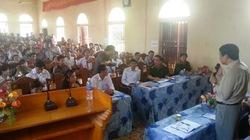 Vụ chôn thuốc sâu ở Thanh Hóa: Sở TNMT nhận thiếu sót, rút kinh nghiệm