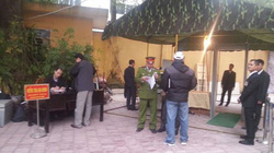 Thắt chặt an ninh phiên tòa xét xử Dương Chí Dũng