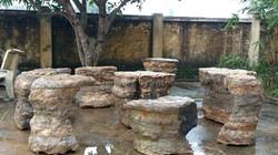 Nghệ An phát hiện bộ bàn đá cổ chưa rõ niên đại