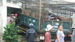 Lao thẳng vào nhà, xe tải nông sản đâm trọng thương người nằm võng