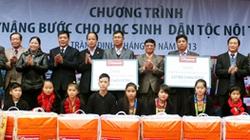 12.525 học sinh được nhận chăn ấm