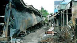 Bạc Liêu: Cháy chợ xã, hơn 50 ki-ốt thành tro