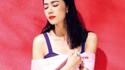 Người đẹp Hoa ngữ quyến rũ với gam màu nóng