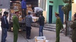 Bắt vụ vận chuyển 4 tấn thủy sản lậu