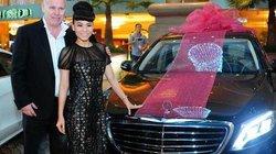 Chồng Tây mạnh tay tặng Thu Minh xe hơi 10 tỷ