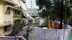 """Đập bỏ trụ sở Tòa Hành chính TP.HCM sau vụ """"hố tử thần"""""""