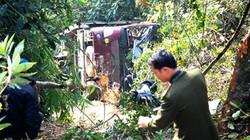 Xe khách chở 33 người lao xuống vực sâu đèo Pha Đin