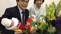 Kỳ diệu cặp song sinh Hà Nội chào đời bằng tinh trùng của người bố đã mất