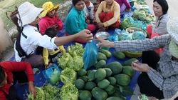 Người Raglai tập đi chợ