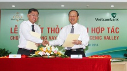 Khách hàng mua căn hộ Scenic valley được Vietcombank hỗ trợ lãi suất ưu đãi