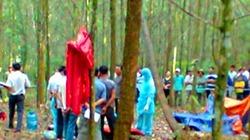 Phát hiện thi thể nam sinh treo lơ lửng trong rừng tràm