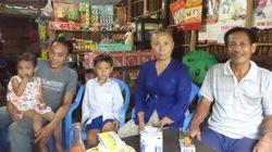 Bé 3 tuổi bị mẹ ruột, cha dượng hành hạ về quê nội trong niềm vui vỡ òa