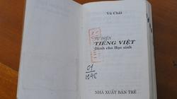 Từ điển lỗi sai nhan nhản vẫn nằm trên kệ sách Thư viện Quốc gia