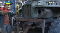 """Ukraine nâng giáp cho xe chở pháo đa nòng """"Mưa Đá"""""""