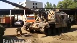 Pháo tự hành hàng khủng Ukraine lọt vào tay quân nổi dậy