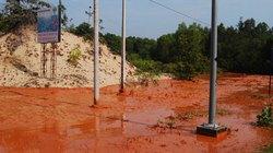 Bùn đỏ là gì, độc hại ra sao?