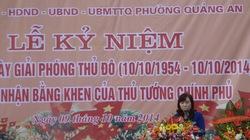 """Quảng An – """"Phường văn hóa"""" đầu tiên của Hà Nội đón nhận Bằng khen của Thủ tướng"""